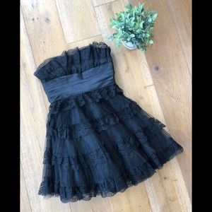 Betsey Johnson evening tulle sleeveless dress 6